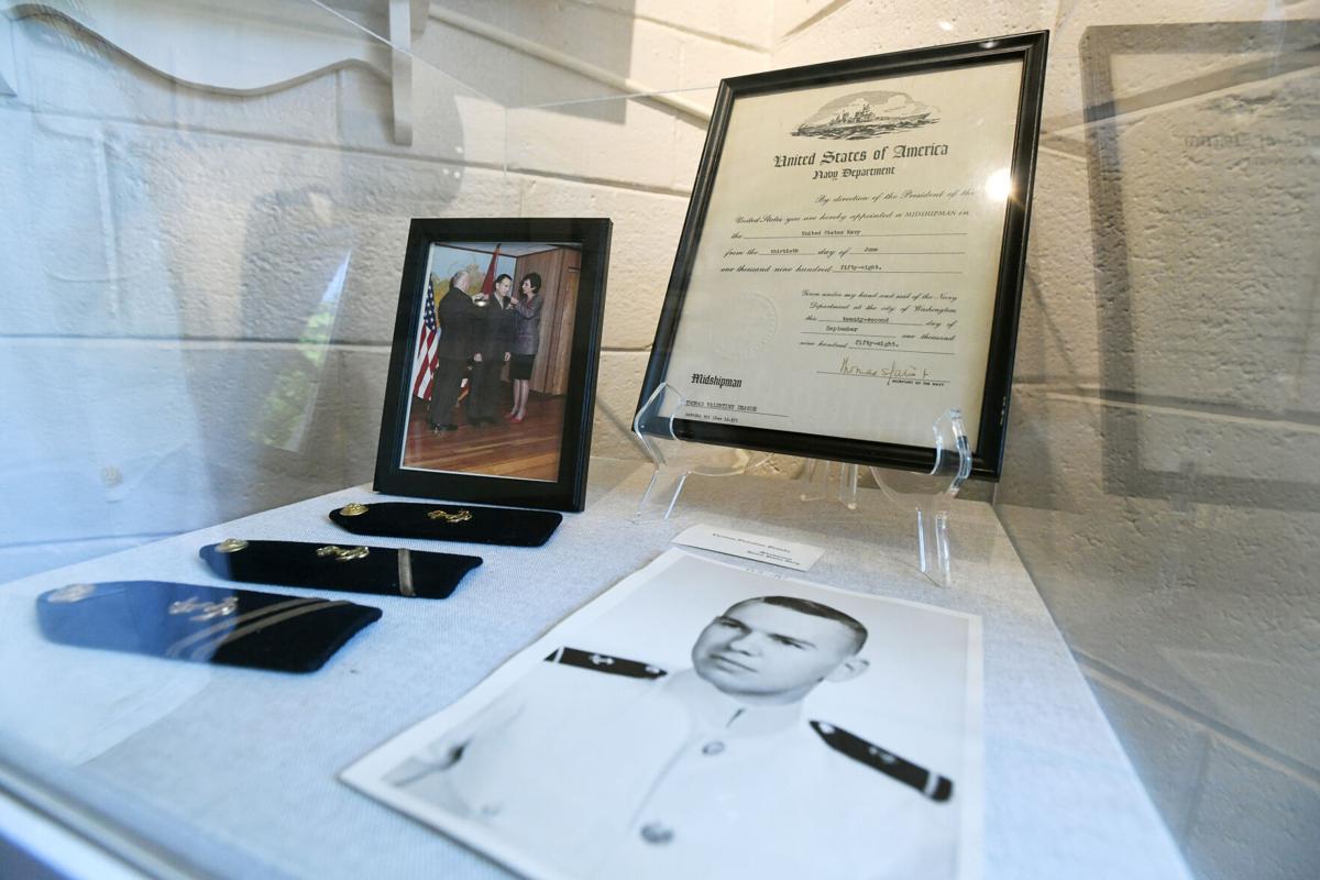 Local Hero exhibit: USMC Thomas Draude