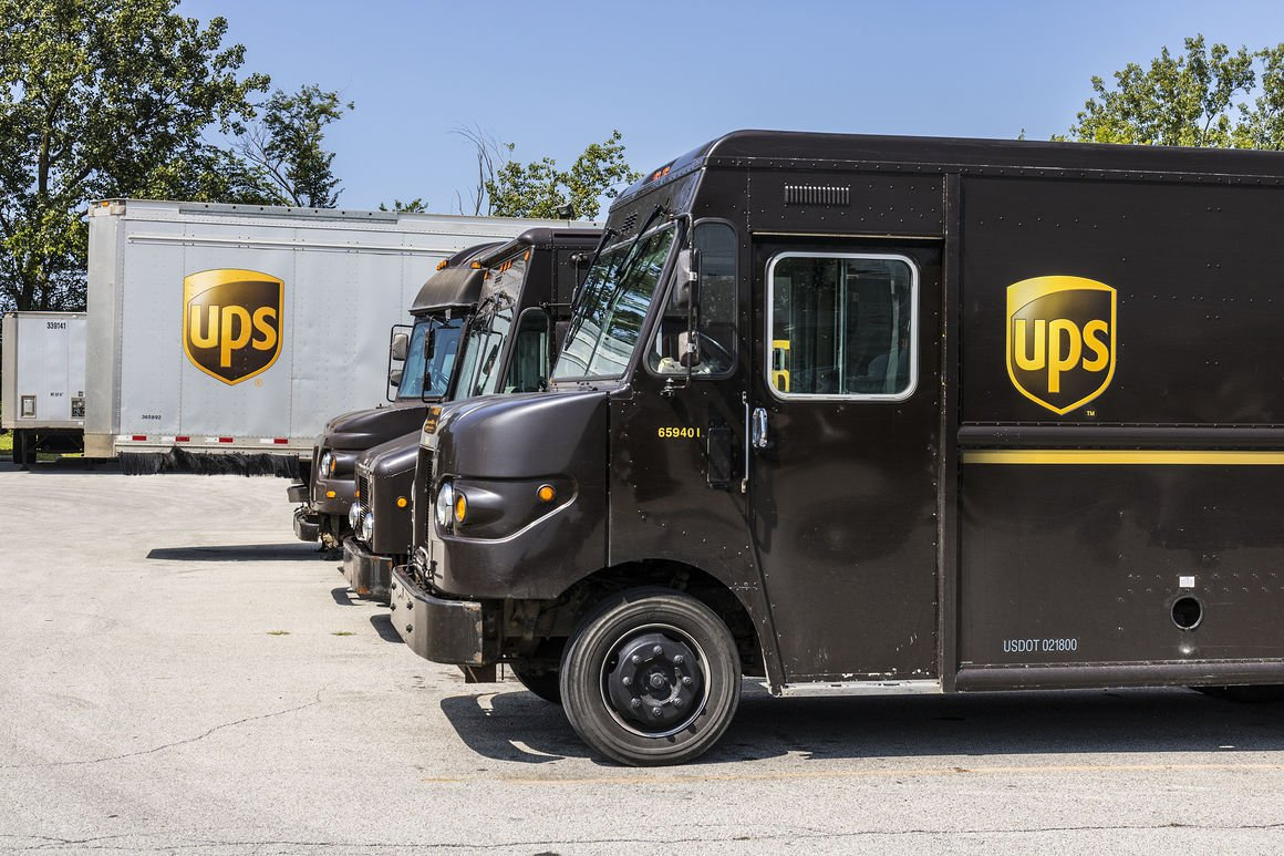 Ups Delivery UPS to add new electri...