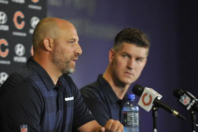 Matt Nagy and Ryan Pace