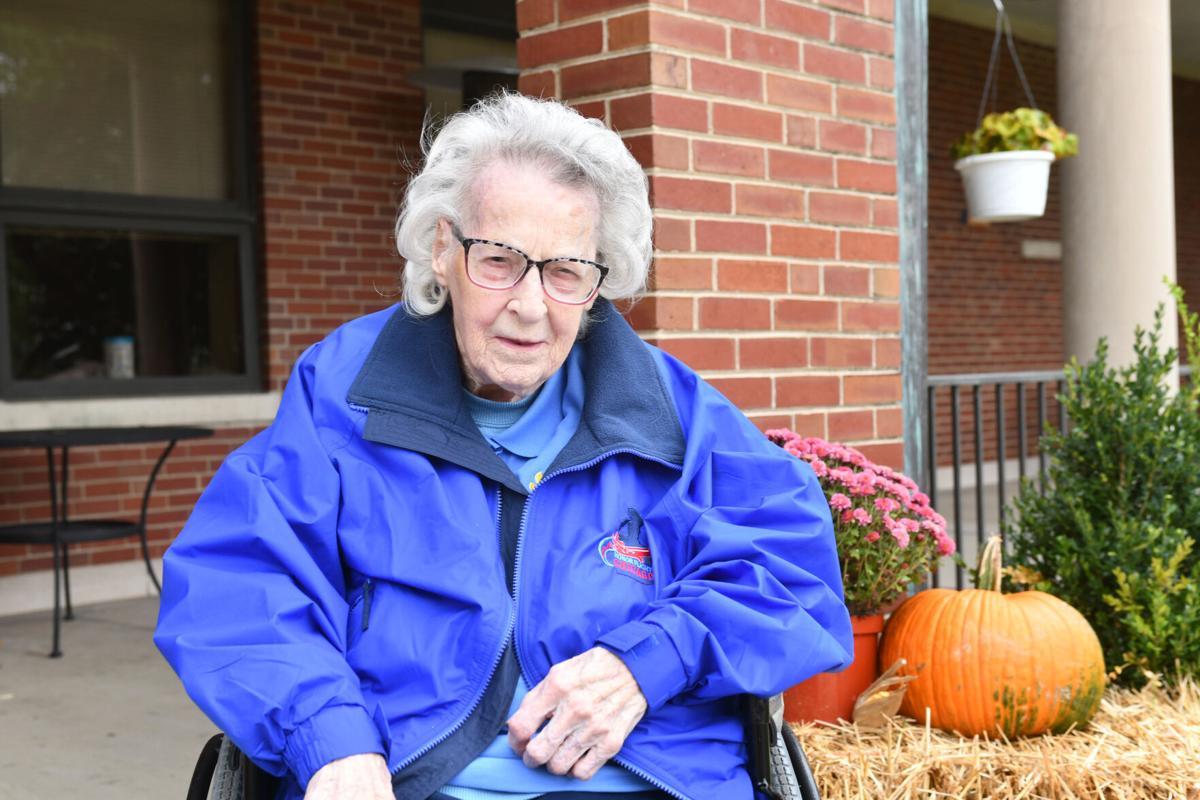 104-year-old veteran Josephine Bogdanich