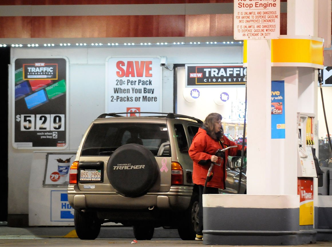 Gas prices tax hike