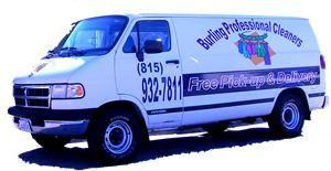 Burling Professional Cleaners Van