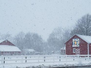 Perry Farm in winter