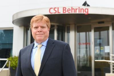 CSL new plant manager Jose Gonzalez