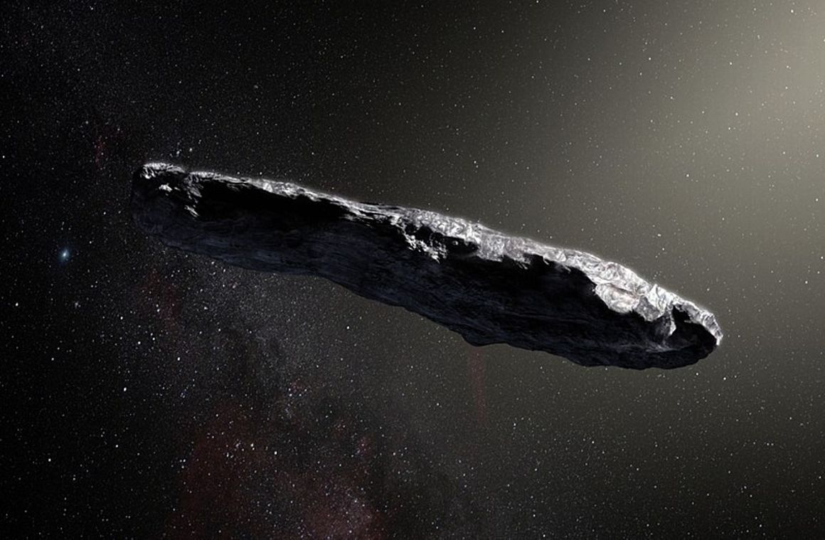 Oumuamua 1st Interstellar Asteroid Observed From Earth
