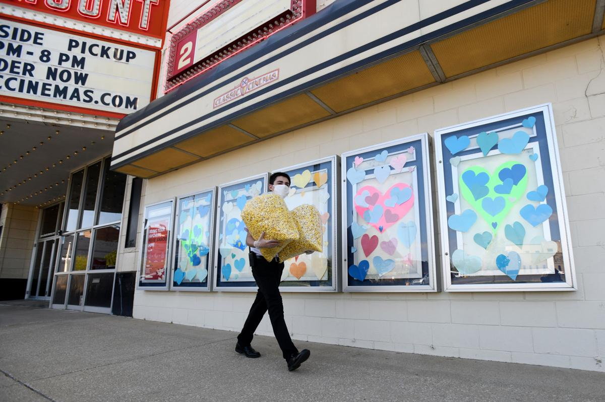 Paramount popcorn ready for pick-up