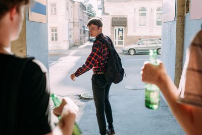 Alcohol Awareness Month - teens