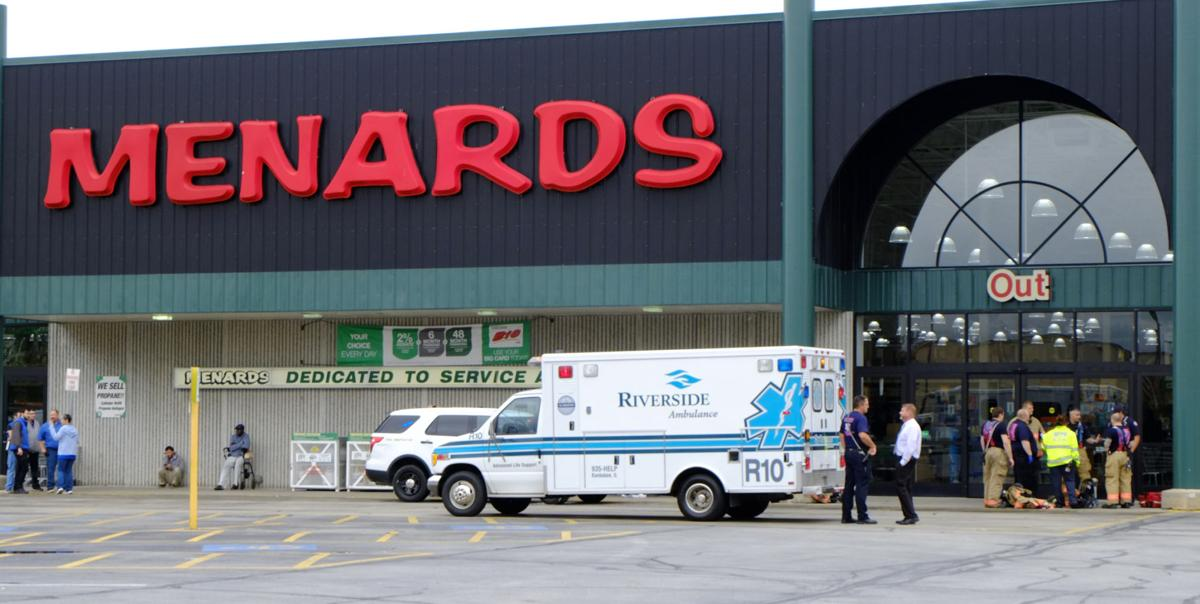 Unknown odor clears Menards, sends several to hospital