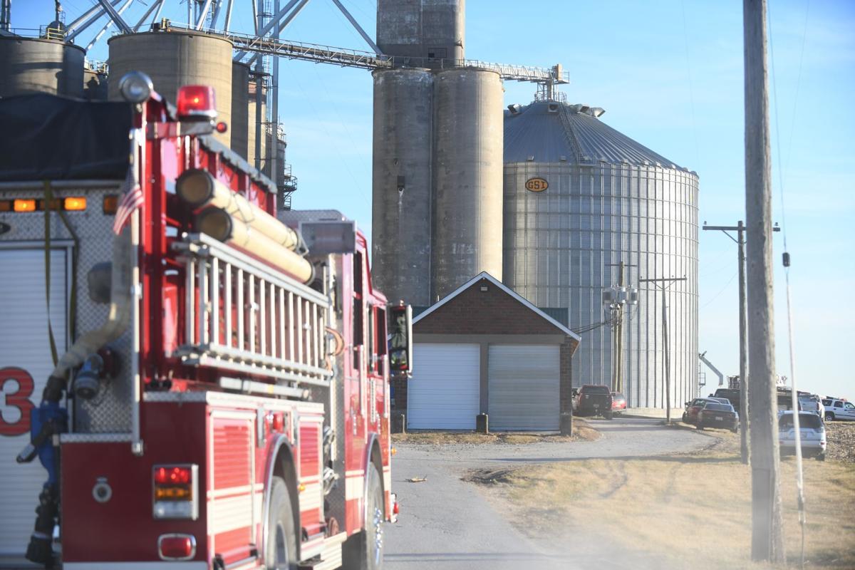Fatal accident at grain bin