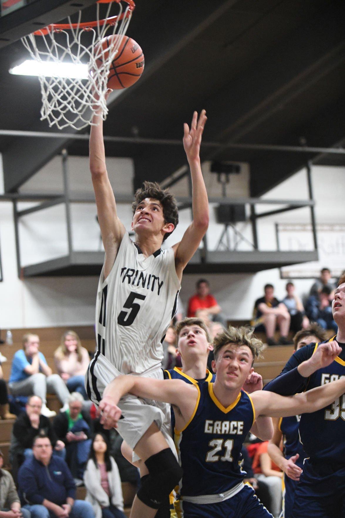 Boys Basketball: Grace Christian vs. Trinity Academy