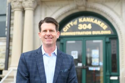Mayor elect Chris Curtis