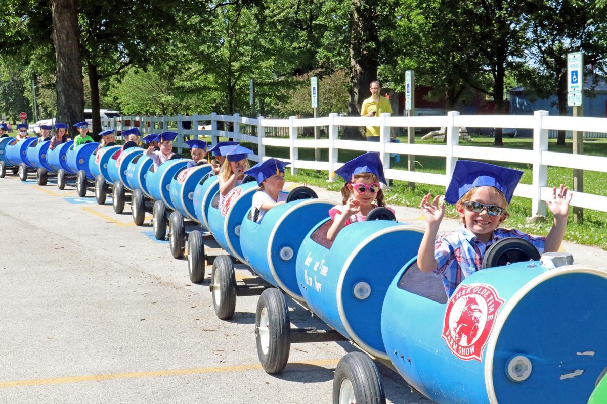 Graduates in 'train'ing