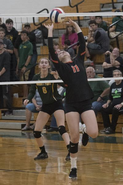 VOLLEYBALL: Area schools take seven of nine first-team All-RVC slots