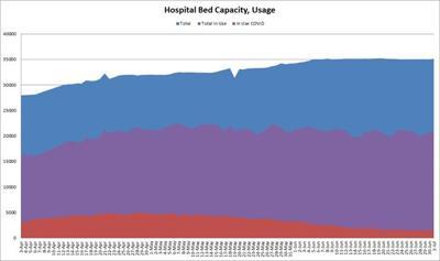 Hospital bed usage