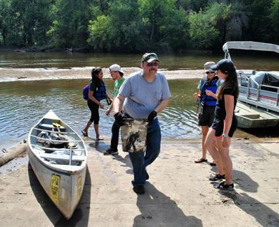 NIAA river cleanup