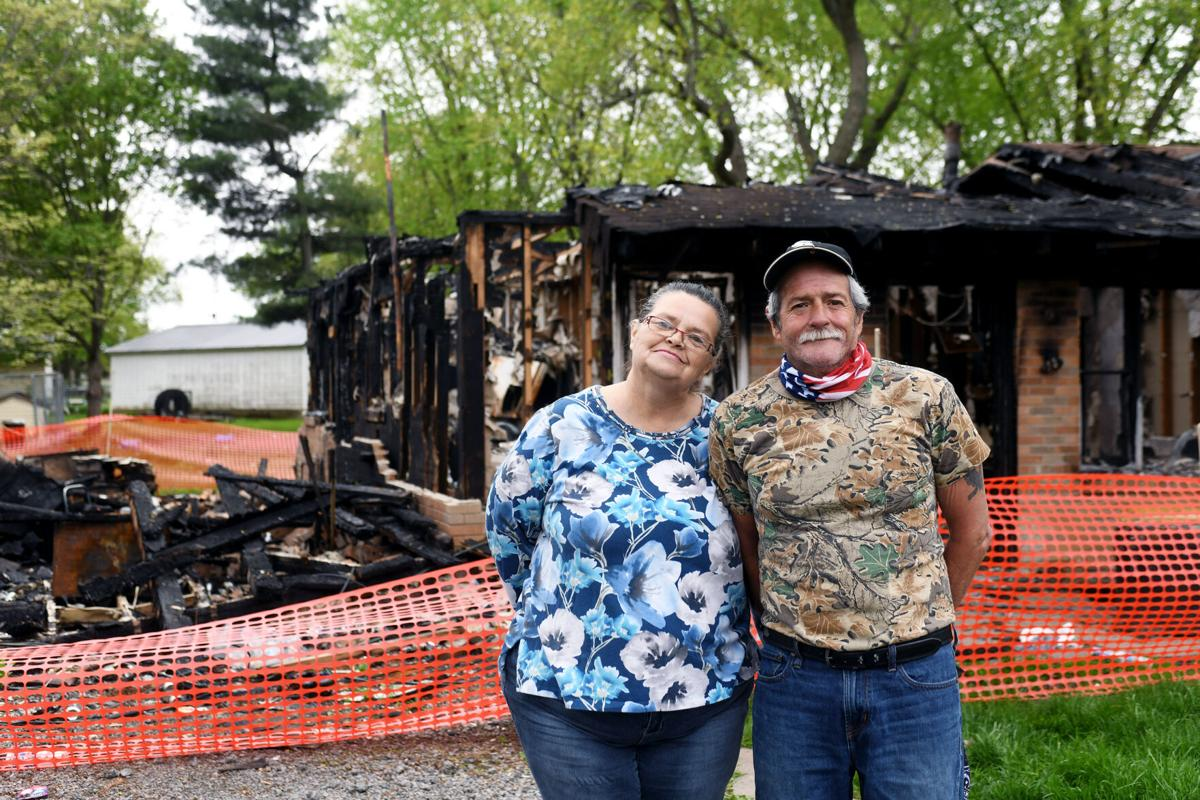 Man saves partner, pets in total loss house fire