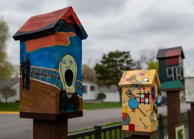 MHS bird houses