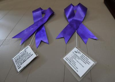 Harbor House - Domestic Violence Awareness Month ribbons