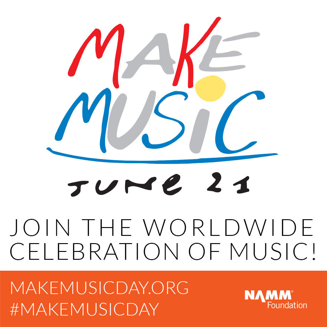 Make Music Day logo