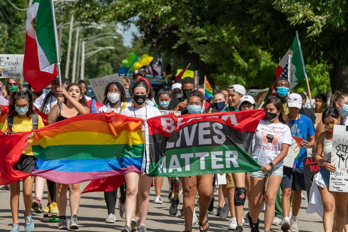 Anti-Racist Unity March For Human Rights