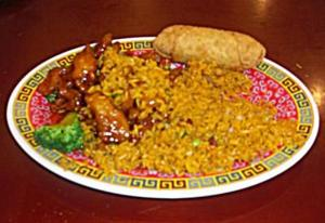 Great Wall plate of food