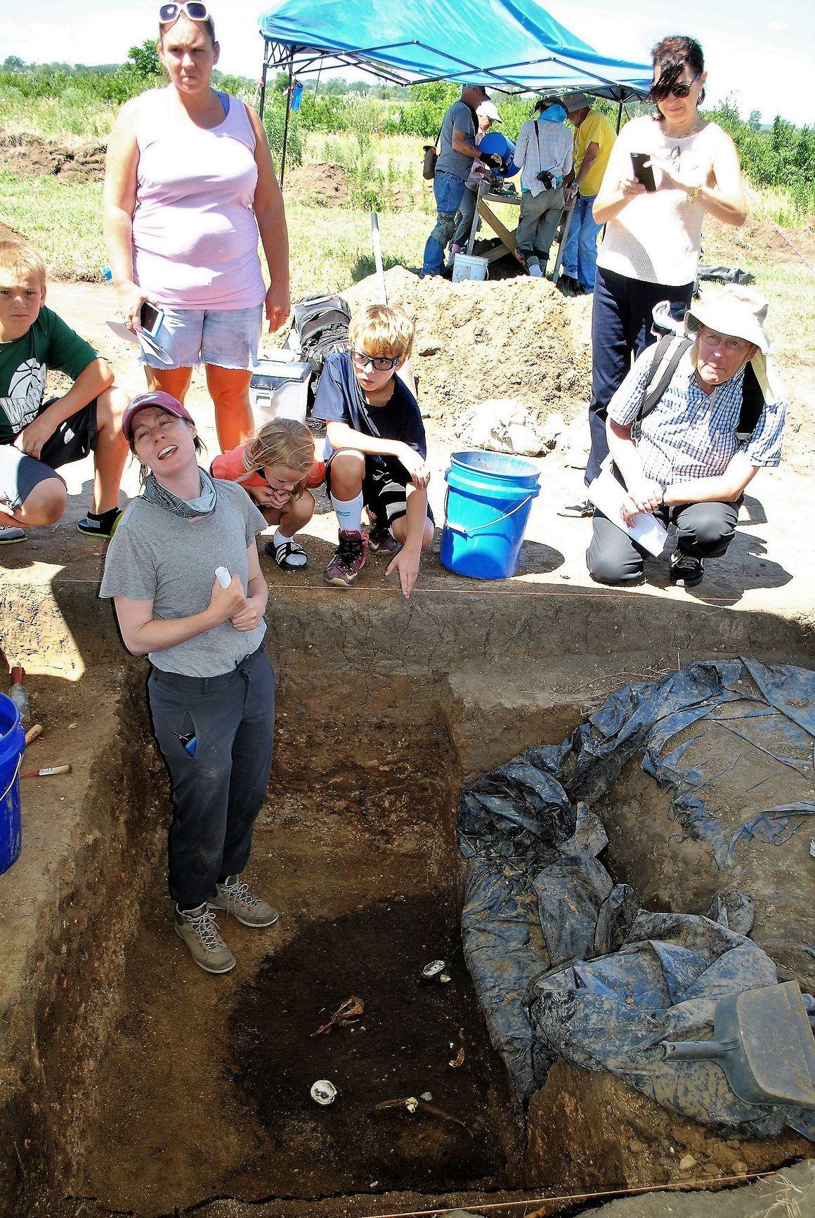 Excavation at Midewin