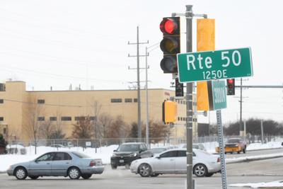 Armour Road and IL Route 50