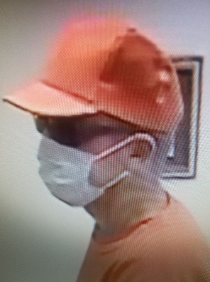 First Trust Bank robber pic 1