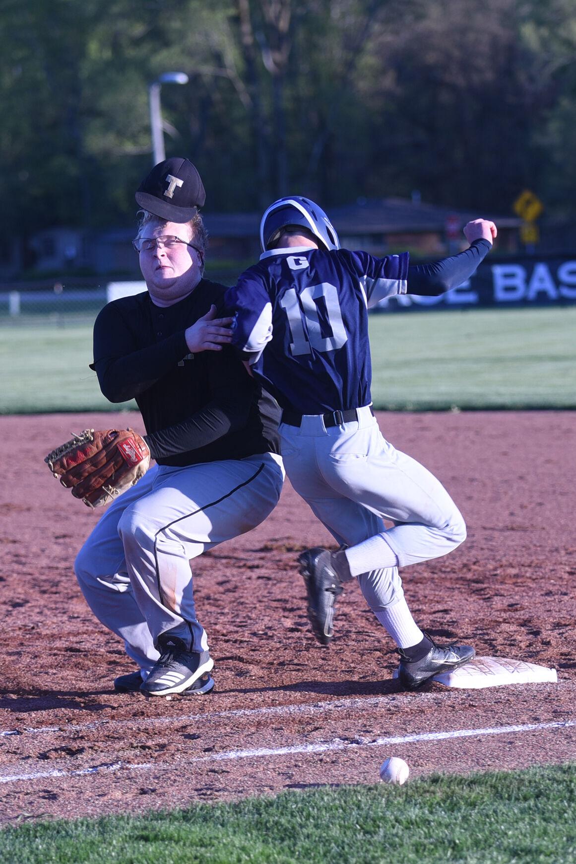 Trinity at Grace Christian baseball