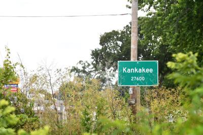 Kankakee population sign