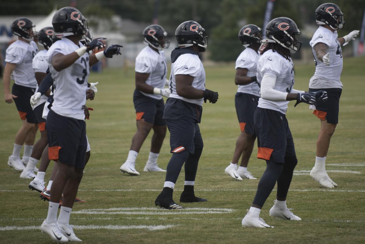Bears hold first day of practice in Bourbonnais