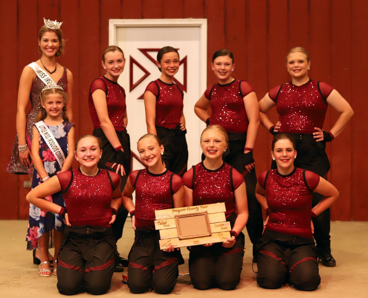 Junior show talent winners - IC Fair