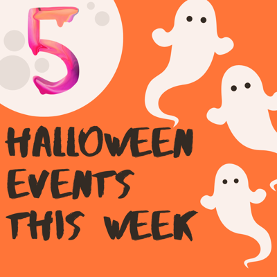 5 Halloween Events this week