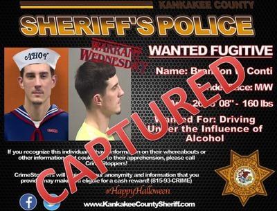 Brandon Conti warrant poster