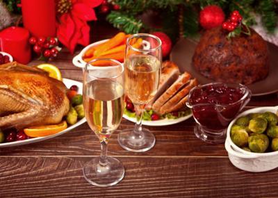 Christmas Eve New Years Eve dinner