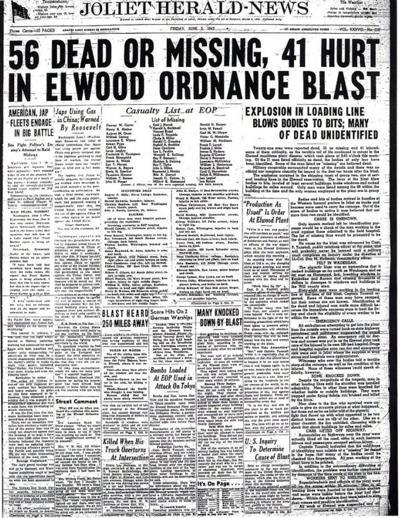 Elwood explosion