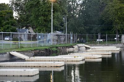 Beckman Harbor collapse