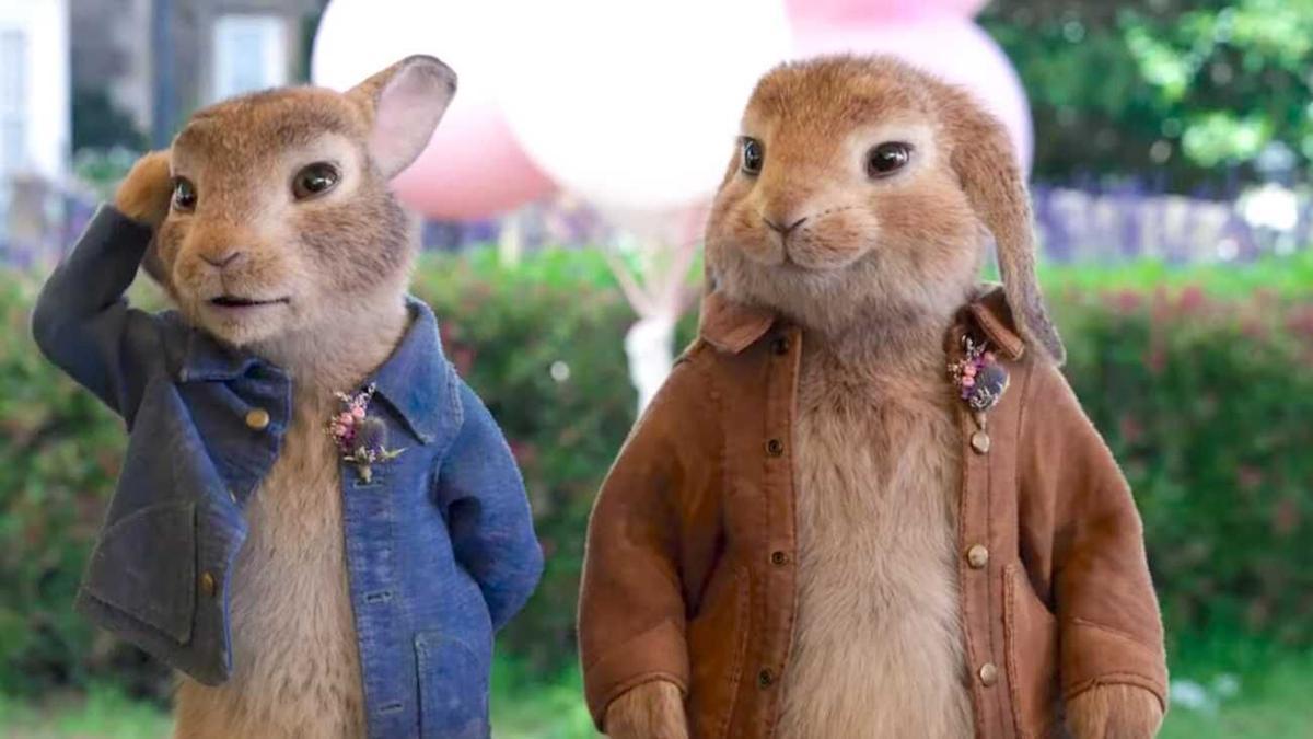Peter Rabbit 2 - movie still