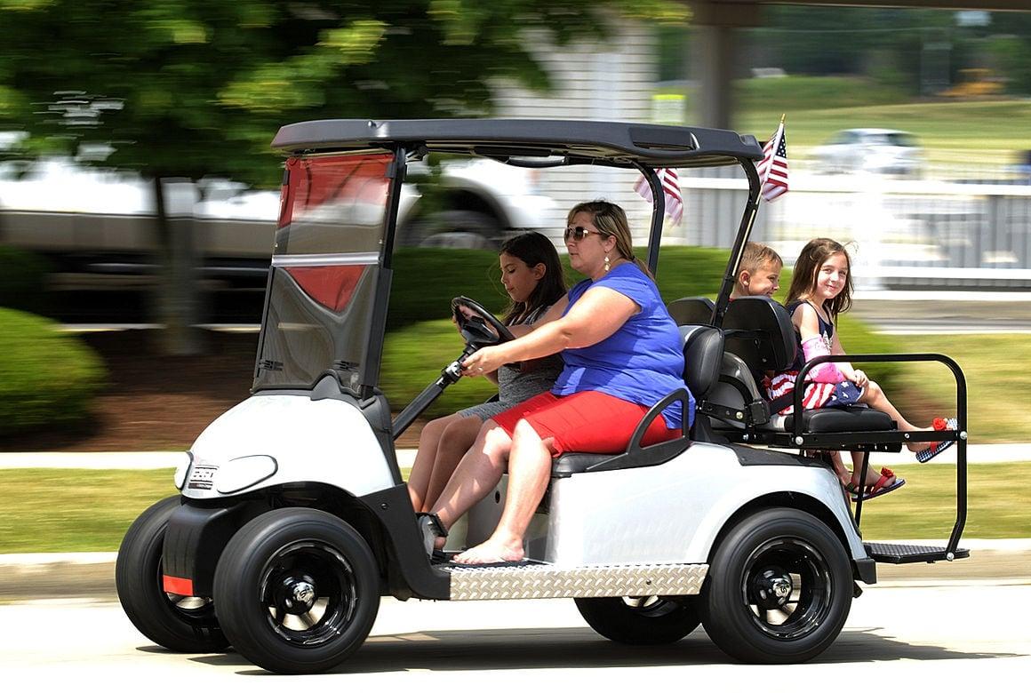will kankakee join golf cart parade local news dailyjournalrhdailyjournal: general  lee golf cart horn at
