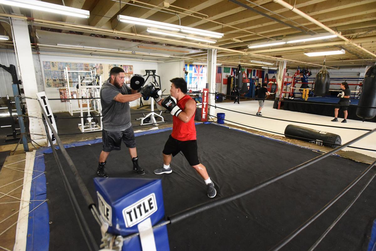 Garage gym grows through generations