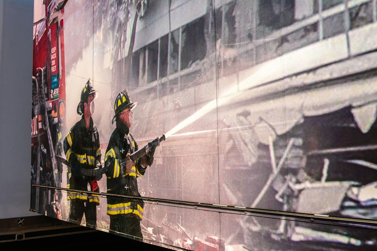 Step, STAND, Salute -- Watseka hosts 9/11 Never Forget mobile exhibit