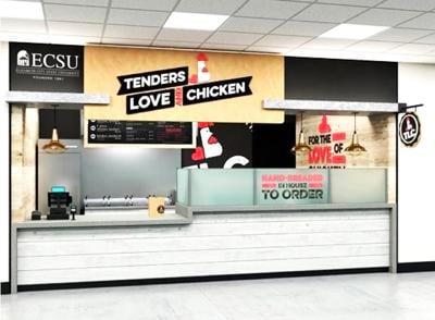 ECSU dining service