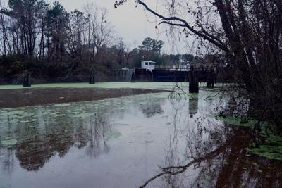 South Mills Lock, Jan. 14