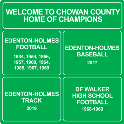 Athletic accomplishment signs