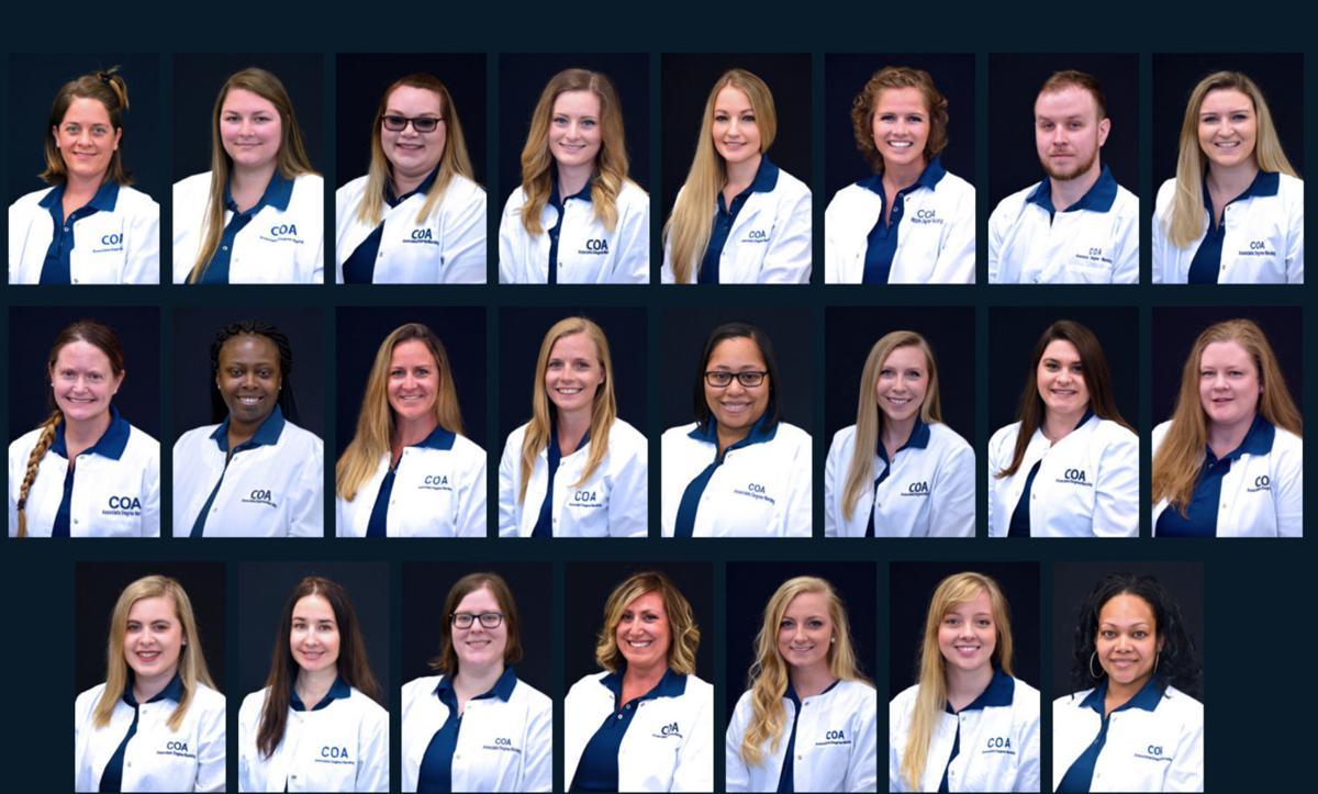 College of the Albemarle Associate Degree Nursing Class of 2020