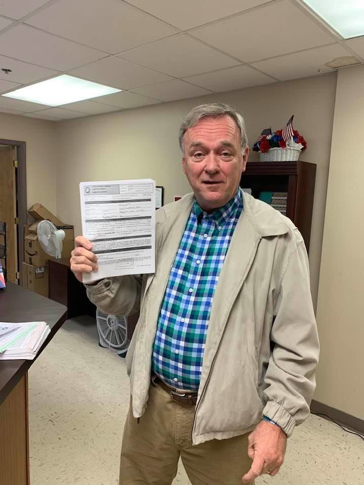 Goodwin files for re-election