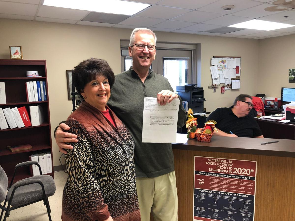 Steinburg files for re-election