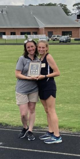 AAC track meet -- Female athlete of the year