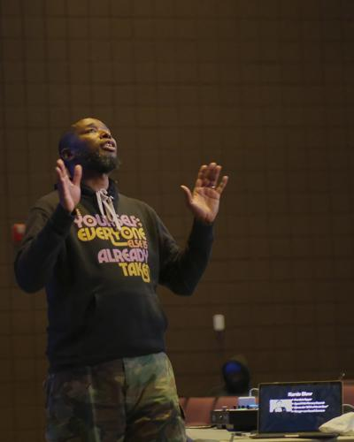 hip hop lecture with 9th Wonder