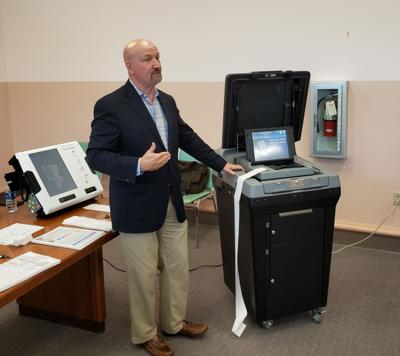 Printelect machine